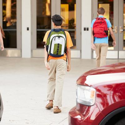 School pick-up